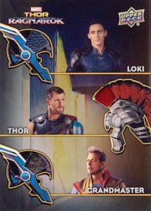 The Armory Memorabilia Triple Loki, Thor, Grandmaster