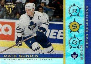 Three Stars Selections Mats Sundin