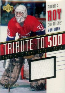 Tribute to 500 Patrick Roy