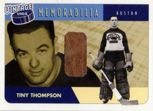 Vintage Memorabilia Tiny Thompson