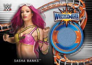 Wrestlemania 33 Mat Relics Sasha Banks