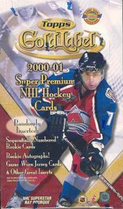 2000-01 Topps Gold Label