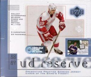 2000-01 UD Reserve