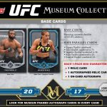 2017 Topps UFC Museum Collection