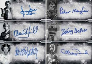 6 Way Auto Harrison Ford, Mark Hamill, Carrie Fischer, Peter Mayhew, Anthony Daniels, Kenny Baker