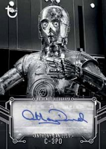 Autographs Anthony Daniels C-3PO