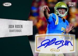 Autographs Josh Rosen