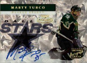 Autographs Marty Turco