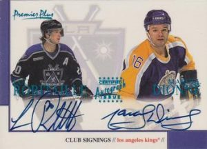 Club Signings Dual Luc Robitaille, Marcel Dionne