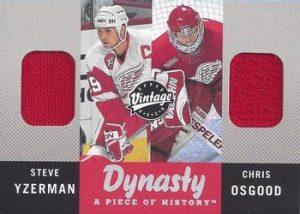Dynasty A Piece of History Steve Yzerman, Chris Osgood