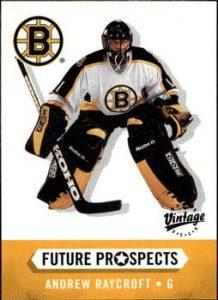 Future Prospects Rookies Andrew Raycroft