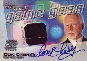 Game Gear Auto Jersey Don Cherry