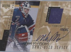 Game Jersey Auto Exclusive Mike Richter