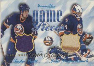 Game Pieces Dual Taylor Pyatt, John Vanbiesbrouck