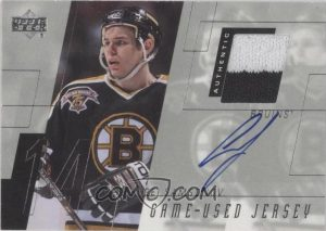 Game-Used Jersey Autographs Sergei Samsonov