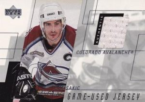 Game-Used Jersey Joe Sakic