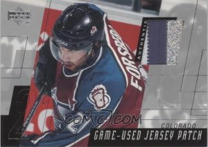Game-Used Patch Peter Forsberg