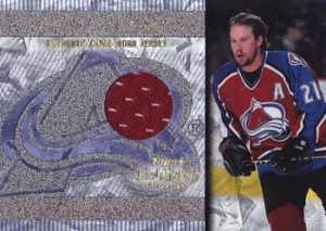 Game-Worn Jersey Peter Forsberg