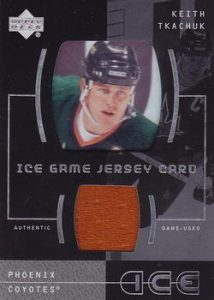 Ice Game-Used Jersey Keith Tkachuk