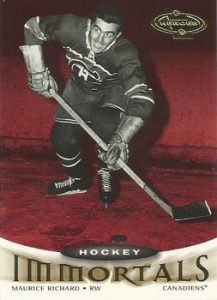 Immortals Maurice Richard