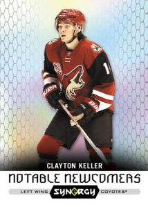 Notable Newcomers Clayton Keller