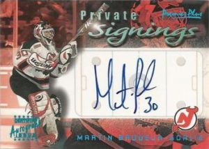 Private Signings Martin Brodeur