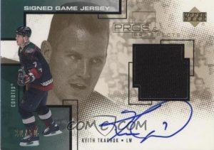 Signed Game Jersey Exclusives Keith Tkachuk