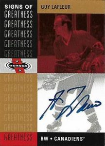 Signs of Greatness Guy Lafleur