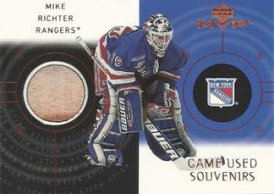 Super Game-Used Souvenirs Mike Richter