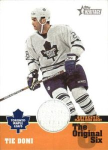 The Original 6 Relics - Jersey Tie Domi