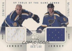 Tools of the Game Combo Al MacInnis, Pavol Demitra