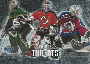 Triple Threats Ed Belfour, Martin Brodeur, Patrick Roy