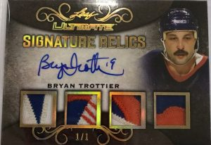 Ultimate Signature Relics Bryan Trottier