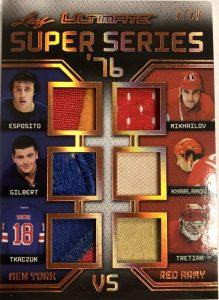 Ultimate Super Series '76 Phil Esposito, Rod Gilbert, Walt Tkachuk, Boris Mikhailov, Valeri Kharlamov, Vladislav Tretiak