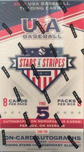 2018 Panini Stars and Stripes USA Baseball