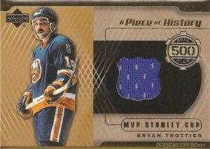 A Piece of History 500 Goal Club Bryan Trottier