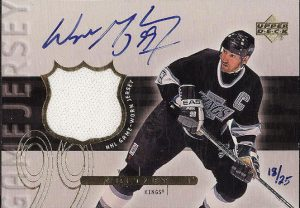 Game Jersey Signed Wayne Gretzky