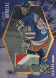 Game-Used In the Numbers Wayne Gretzky