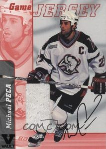Game-Used Jersey Autographs Michael Peca