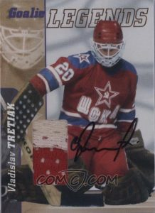 Goalie Legends Memorabilia Autographs Vladislav Tretiak