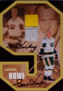 Gordie Howe No 9 Auto