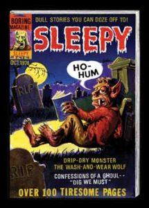 Horror Film Sleepy
