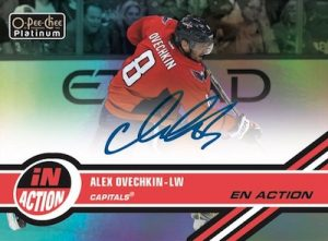 In Action Autographs Alex Ovechkin