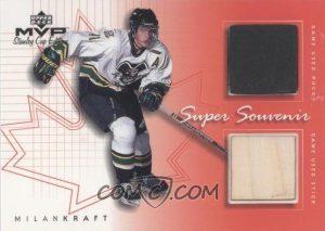 Super Game-Used Souvenirs Milan Kraft