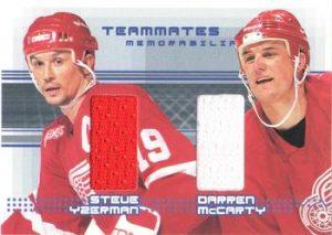 Teammates Memorabilia Darren McCarty, Steve Yzerman