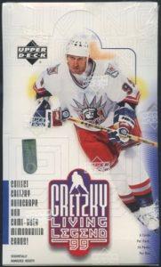 1999 UD Wayne Gretzky Living Legend