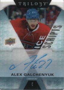 2016-17 Ice Scripts Update Alex Galchenyuk