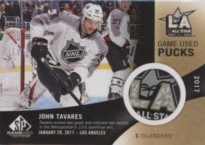 2017 NHL All-Star Game-Used Puck John Tavares