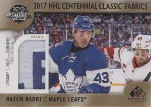 2017 NHL Centennial Classic Fabrics Patch Nazem Kadri