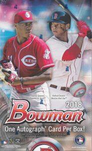 2018 Bowman Baseball